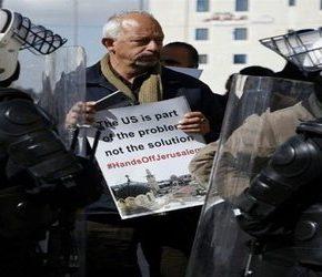 Amerykanie ewakuowani po protestach Palestyńczyków