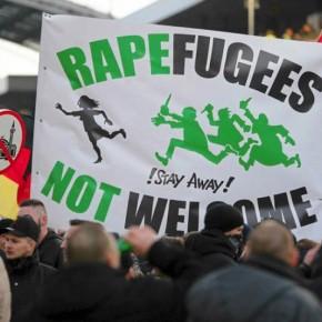 Saksońskie władze ukrywały gwałt imigrantów na wolontariuszce