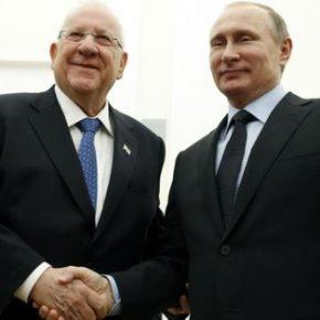 Prezydent Izraela zachwala Rosję