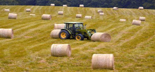 Ciężki los polskiego rolnika