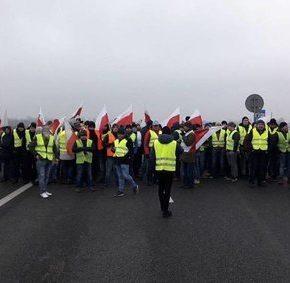 Rolnicy protestowali przeciwko polityce rządu