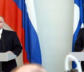 Putin celebrował święto niepodległości Finlandii