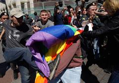 Brytyjska lewica zapowiada międzynarodową walkę z dyskryminacją homoseksualistów