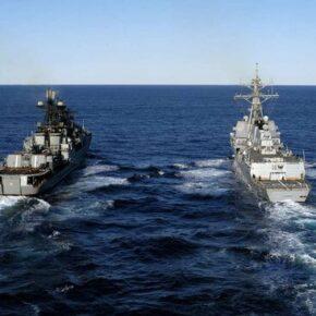 Chiny i Rosja ćwiczą na Morzu Japońskim