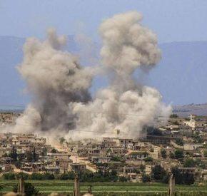 """Rosjanie zbombardowali """"rebeliantów"""" wspartych przez Turcję"""