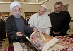 rouhani-pope