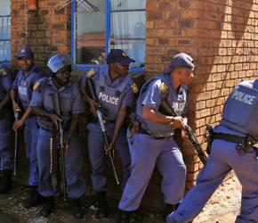 Stolica zbrodni. Dzisiejsza Afryka Południowa