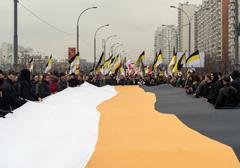 """Rosja: Solidarność z Ukrainą głównym tematem """"Ruskiego Marszu"""" 4 listopada"""