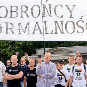 Policja zaatakowała przeciwników homopropagandy