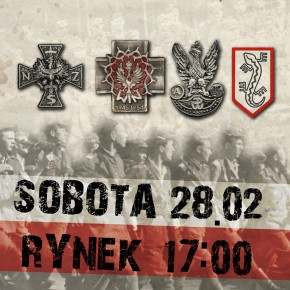 Zaproszenie: Marsz pamięci Żołnierzy Wyklętych w Rzeszowie (28.02.2015)