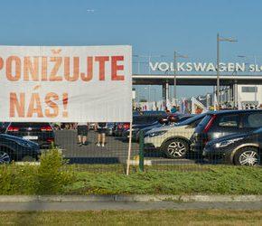 Słowaccy pracownicy wywalczyli podwyżki w Volkswagenie