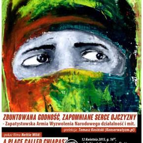 Siemianowice Śląskie: Prelekcja i pokaz filmu o Zapatystach