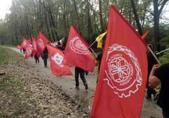 Serbia: marsz Serbskiej Akcji w setną rocznicę rozpoczęcia I Wojny Światowej