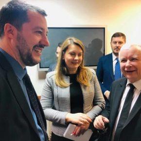 Kaczyński i Salvini spotkali się w Warszawie