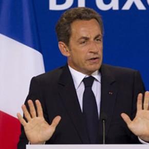 Sarkozy na politycznym aucie