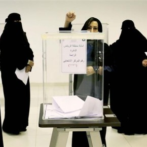 Pierwsze kobiety w saudyjskiej polityce