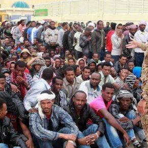 Saudyjczycy przetrzymują czarnych imigrantów