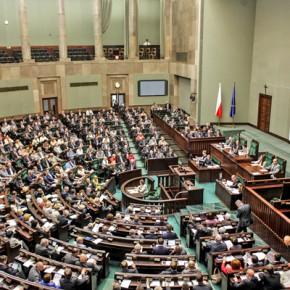 Sejm przyjął ustawę... przez pomyłkę