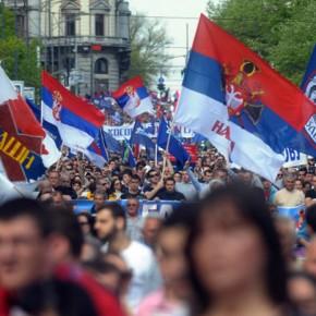 Serbia: Nacjonaliści demonstrowali przeciwko umowie z NATO