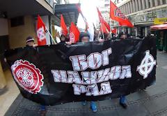 Serbia: Nacjonaliści demonstrowali w Belgradzie