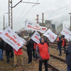 Górnicy blokują rosyjski węgiel