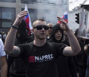 Słowacja: Protest anty-imigrancki