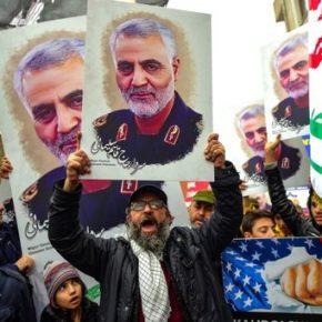 Miliony osób w Teheranie pożegnały Solejmaniego (+WIDEO)