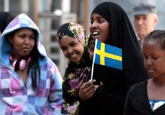 Szwedzcy promotorzy multi-kulti o somalijskich imigrantach