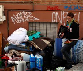 Hiszpania: Prawie 100 rodzin dziennie traci dach nad głową