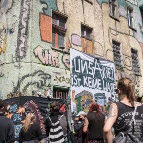 Policja oczyściła squat w Berlinie