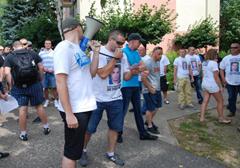 Śrem: Manifestacja przeciwko przemocy policyjnej