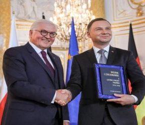 Duda i Steinmeier rozpaczają nad popularnością eurosceptyków
