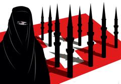 Szwajcarzy wypowiedzieli się przeciwko zasłanianiu twarzy przez muzułmanki