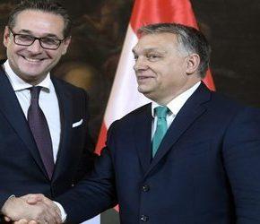 Strache chce sojuszu z Orbánem