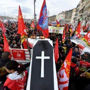 We Francji zaczął się strajk generalny