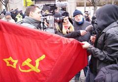 Czechy: Młodzi komuniści czczą zwolennika inwazji z 1968 roku