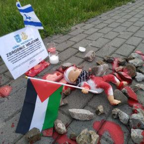 Stalowa Wola: Nacjonaliści przeciwko izraelskiej agresji w Palestynie
