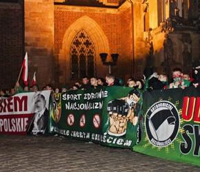 Nacjonalistyczne obchody Święta Niepodległości - marsze w Krakowie i we Wrocławiu