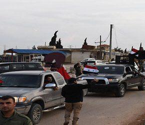 Syryjskie siły są już w Afrin
