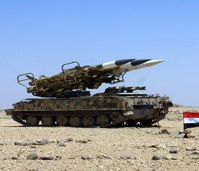 Syryjska armia odpowiedziała na atak Izraela