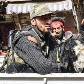 """Starcia na terenach kontrolowanych przez Turków i """"rebeliantów"""""""