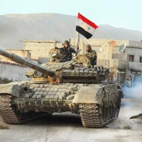 Ofensywa syryjskiej armii po ataku chemicznym na cywilów