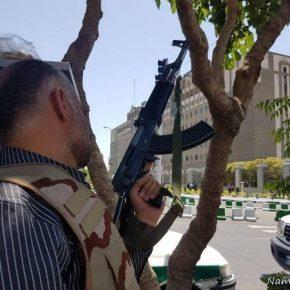 Terroryści zaatakowali stolicę Iranu