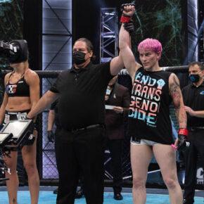 """Kolejny """"transpłciowy"""" zawodnik w kobiecym MMA"""