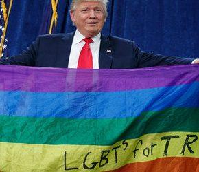 Trump będzie bronił homoseksualistów na całym świecie