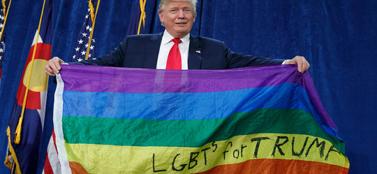 """Większość Republikanów popiera """"małżeństwa"""" homoseksualne"""