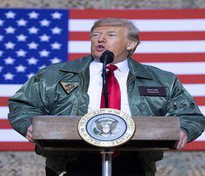 Irak potępia wizytę Trumpa w amerykańskiej bazie