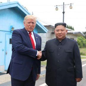 Pierwszy amerykański prezydent w Korei Północnej