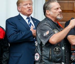 Trump wyśmiewa Antifę
