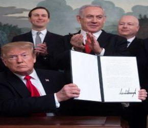 Netanjahu po dekrecie Trumpa bombarduje Gazę
